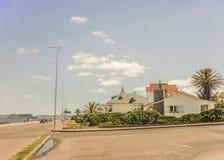 Punta del Este Houses Side View Stock Photo
