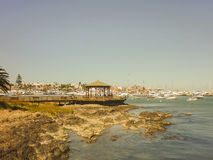 Punta del Este Port View Stock Photography