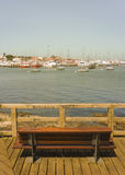 Punta del Este Port View Royalty Free Stock Image