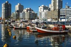 Punta del Este, Uruguay. Fishing boats, Punta del Este, Uruguay Royalty Free Stock Image