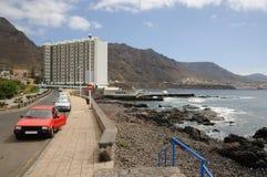 Punta del Hidalgo, Tenerife España imágenes de archivo libres de regalías