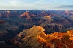 Punta del Hopi, parque nacional del Gran Cañón Imagenes de archivo