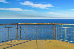Punta Del Marquez Viewpoint, Chubut, Argentinien stockfotos