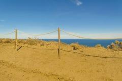 Punta del Marquez Viewpoint, Chubut, la Argentina Fotografía de archivo