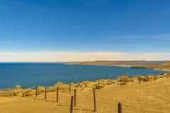 Punta del Marquez Viewpoint, Chubut, la Argentina Foto de archivo