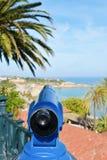 Punta del Miracle en Middellandse Zee, in Tarragona, Spanje Royalty-vrije Stock Afbeelding