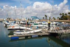 Punta Del Moral, marina, Espagne photo libre de droits