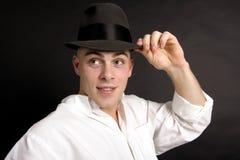 Punta del suo cappello II Fotografie Stock Libere da Diritti