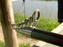 Punta di canna da pesca Fotografie Stock Libere da Diritti