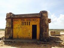 Punta Gallinas krajobraz Obraz Stock
