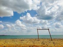 Punta Gallinas krajobraz Zdjęcie Royalty Free