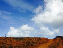 Punta Gallinas krajobraz Zdjęcia Stock