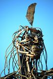 Punta Indio Sculpture Royalty-vrije Stock Foto