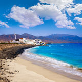 Punta Jandia Fuerteventura and Puerto de la Cruz Royalty Free Stock Photos