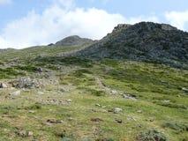 Punta la Marmora - Gennargentu National Park Royalty Free Stock Photos