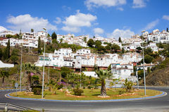 Punta Lara Pueblo Blanco in Andalucia Royalty Free Stock Images