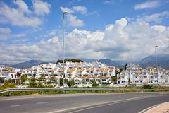 Punta Lara Village in Andalucia Royalty Free Stock Photo