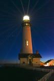 Punta Lightstation de la paloma foto de archivo