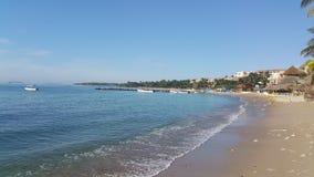 Punta Mita plaża Zdjęcia Stock