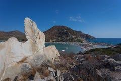 Punta Molentis Fotografia Stock