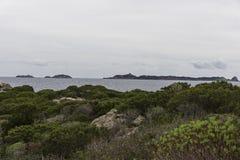 Punta Molentis Стоковая Фотография RF