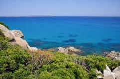 Punta Molentis, Villasimius, Sardinia, Italy Stock Photography