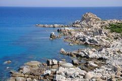 Punta Molentis, Villasimius, Sardinia, Italy Stock Images