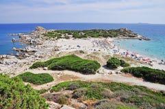 Punta Molentis, Villasimius, Sardinia, Italy Stock Photo