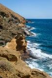 Punta Montana Amarilla rocks Royalty Free Stock Images