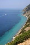 Punta Nera sull'isola dell'Elba Fotografie Stock Libere da Diritti