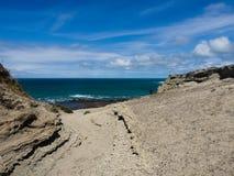 Punta Ninfas, Patagonia Argentina Royaltyfri Fotografi