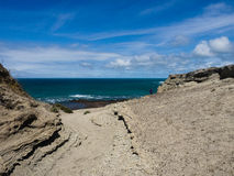 Punta Ninfas, Patagonia Argentina. Punta Ninfas, Nr Puerto Madryn, Patagonia Argentina Royalty Free Stock Photography