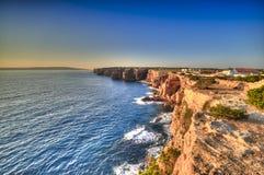 Punta Prima in der Küste von Formentera stockfotos
