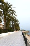 Punta prima is the most southern part of the popular resort of Torrevieja Royalty Free Stock Photo