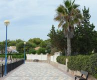 Punta prima is the most southern part of the popular resort of Torrevieja Stock Images