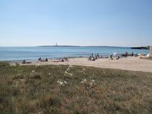 Punta Prima plaża fotografia royalty free