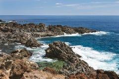 Punta Rasca Coastline in Tenerife, Spain Royalty Free Stock Images