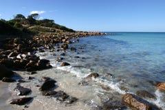 Punta rocosa Foto de archivo libre de regalías