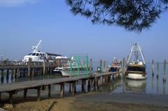 Punta Sabbioni port ,Venetto,Italy Royalty Free Stock Photography