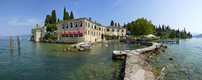 Punta San Vigilio, Garda lake, Italy. Stock Photography