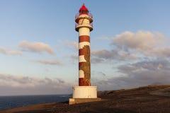 Punta Sardina Lighthouse on Gran Canaria Royalty Free Stock Images