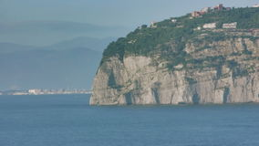 Punta Scutari in Bay of Naples Italy stock footage