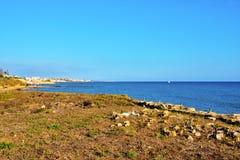 Punta Secca Italien lizenzfreie stockbilder