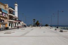 Punta Secca Siracusa Sizilien, Italien lizenzfreie stockfotografie