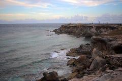 Punta Sura na Isla Mujeres Zdjęcia Royalty Free