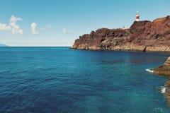 Punta Teno Lighthouse, Tenerife Stock Images