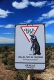 Punta Tombo, Patagonia, Argentina Royalty Free Stock Photos