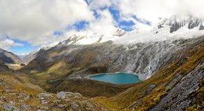 Punta Union, Cordillera Blanca, Santa Cruz Trek Royalty Free Stock Photography