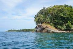 Punta Uva i Costa Rica på den karibiska kusten Royaltyfri Bild