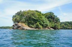 Punta Uva på den karibiska kusten av Costa Rica Fotografering för Bildbyråer